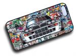 Koolart STICKERBOMB STYLE Design For Retro Lancia Delta Integrale HF Hard Case Cover Fits Apple iPhone 4 & 4s